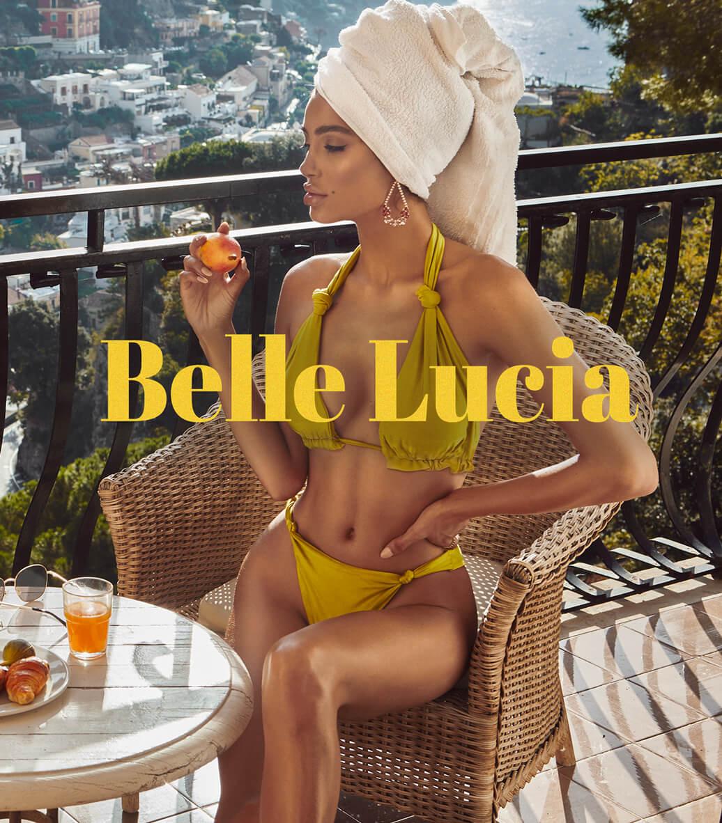 SWIMWEAR BELLE LUCIA CAMPAIGN HEADER MOBILE