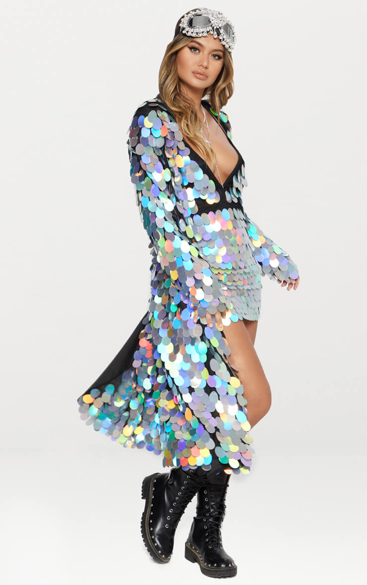 Maxi Sequin Kimono