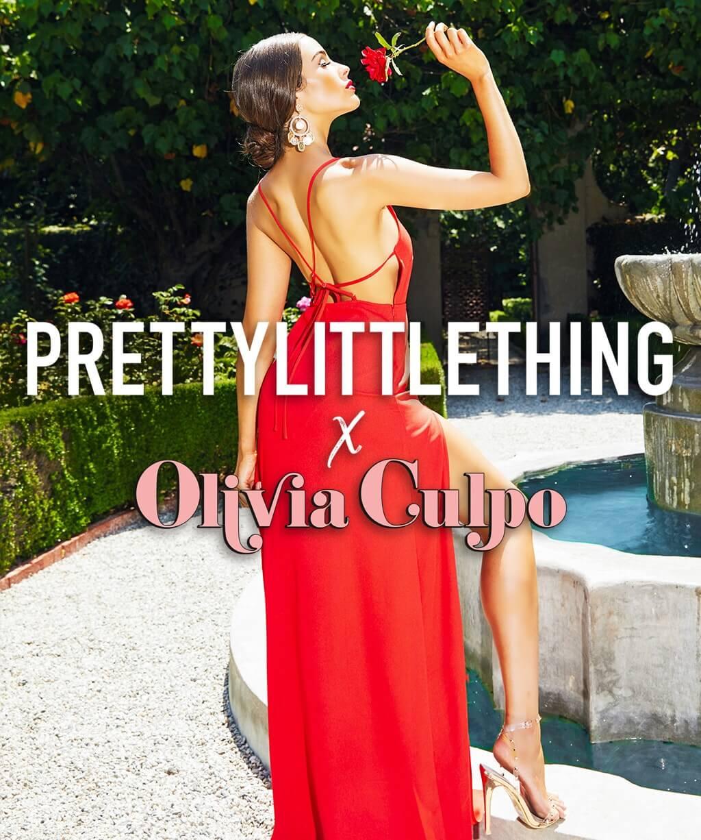 Olivia Culpo Ad | PrettyLittleThing