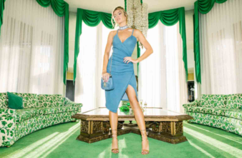 Milla Diamante Stars Denim Choker, Camila Rose Gold Tassel Lace Up Heeled Sandals