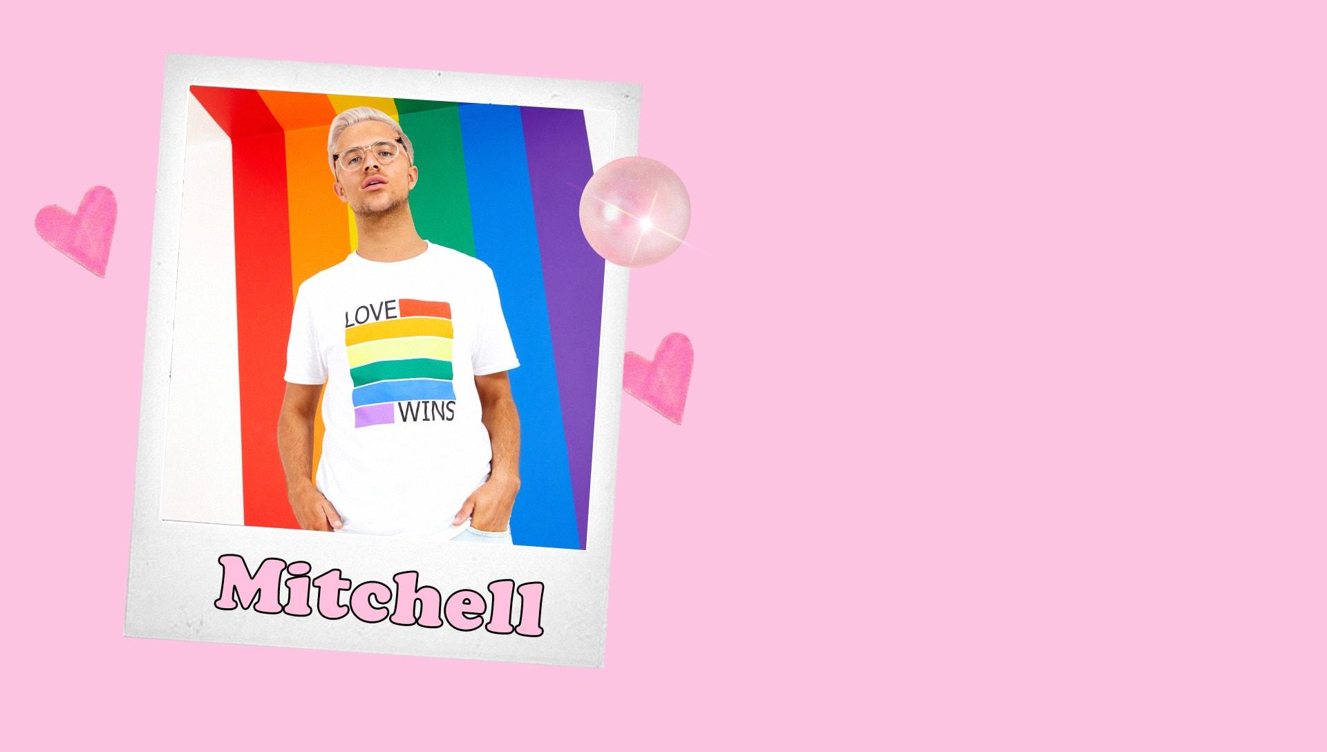 Mitchell Love Wins White Tee