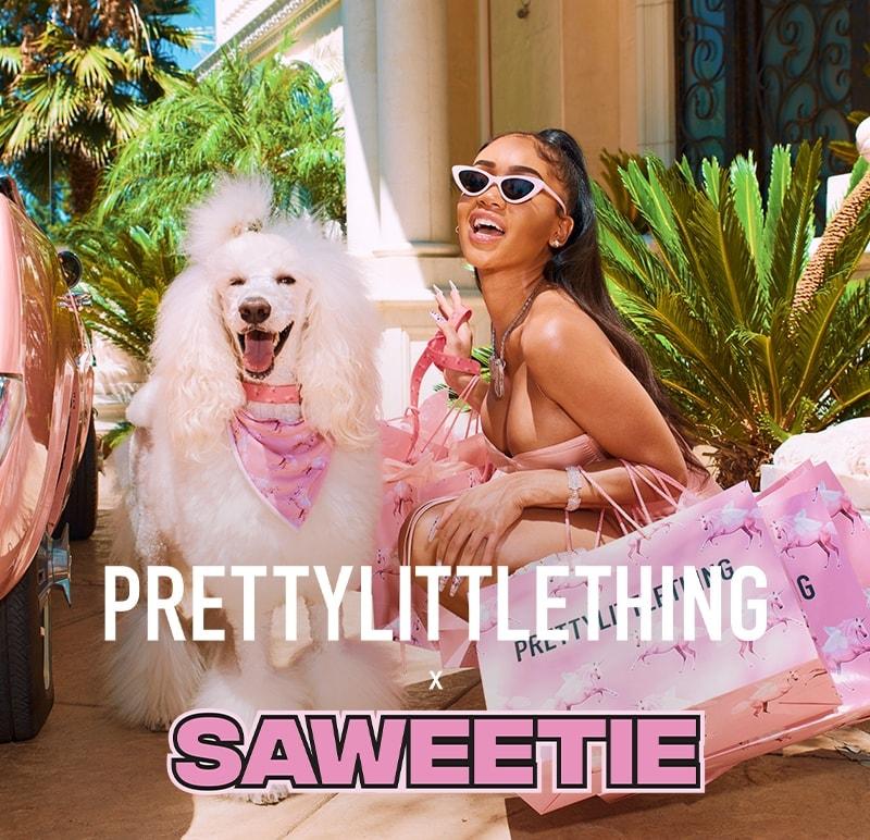 PrettyLittleThing X Saweetie | PrettyLittleThing