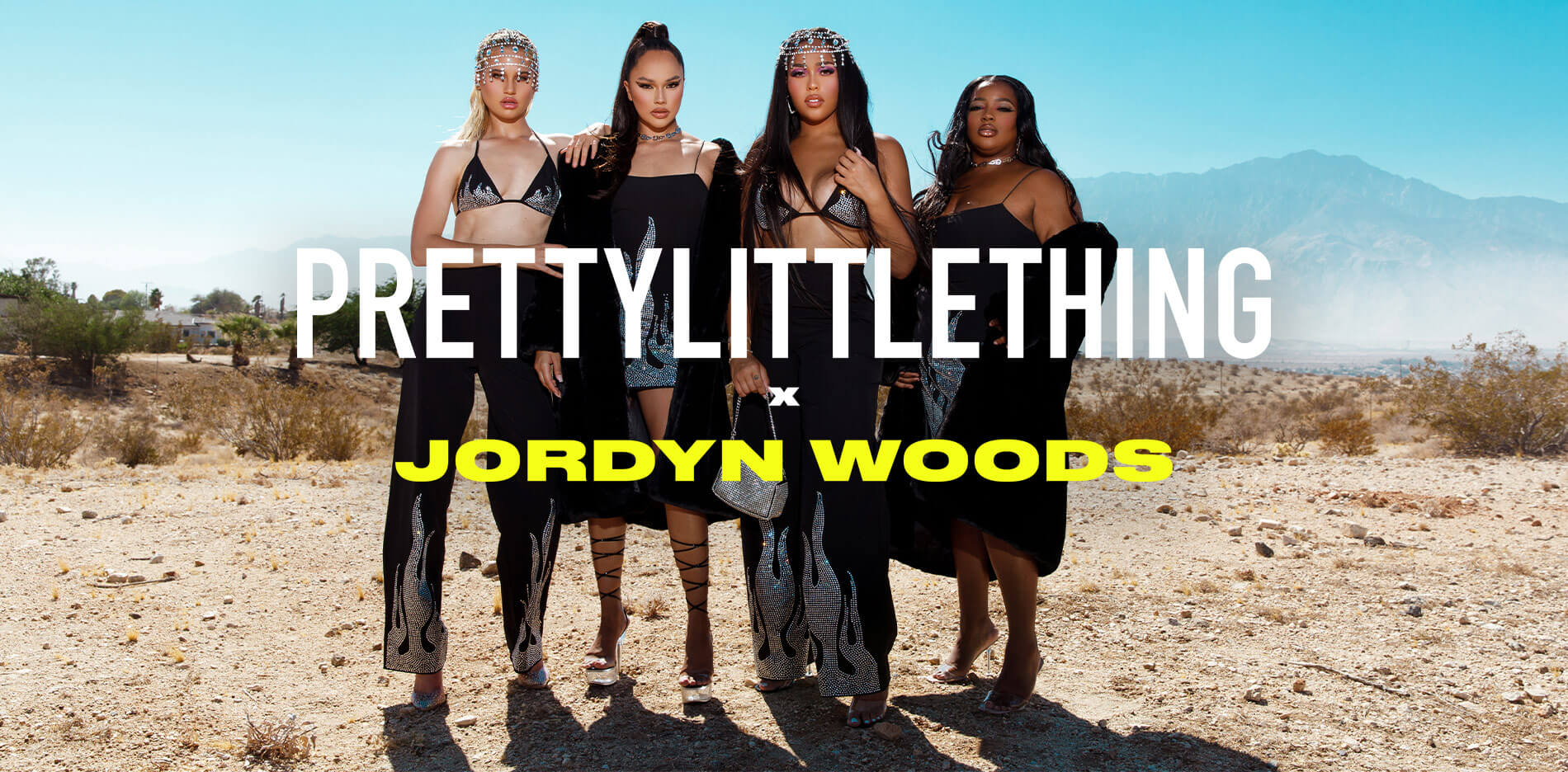 Jordyn Woods Lookbook Desktop Splash