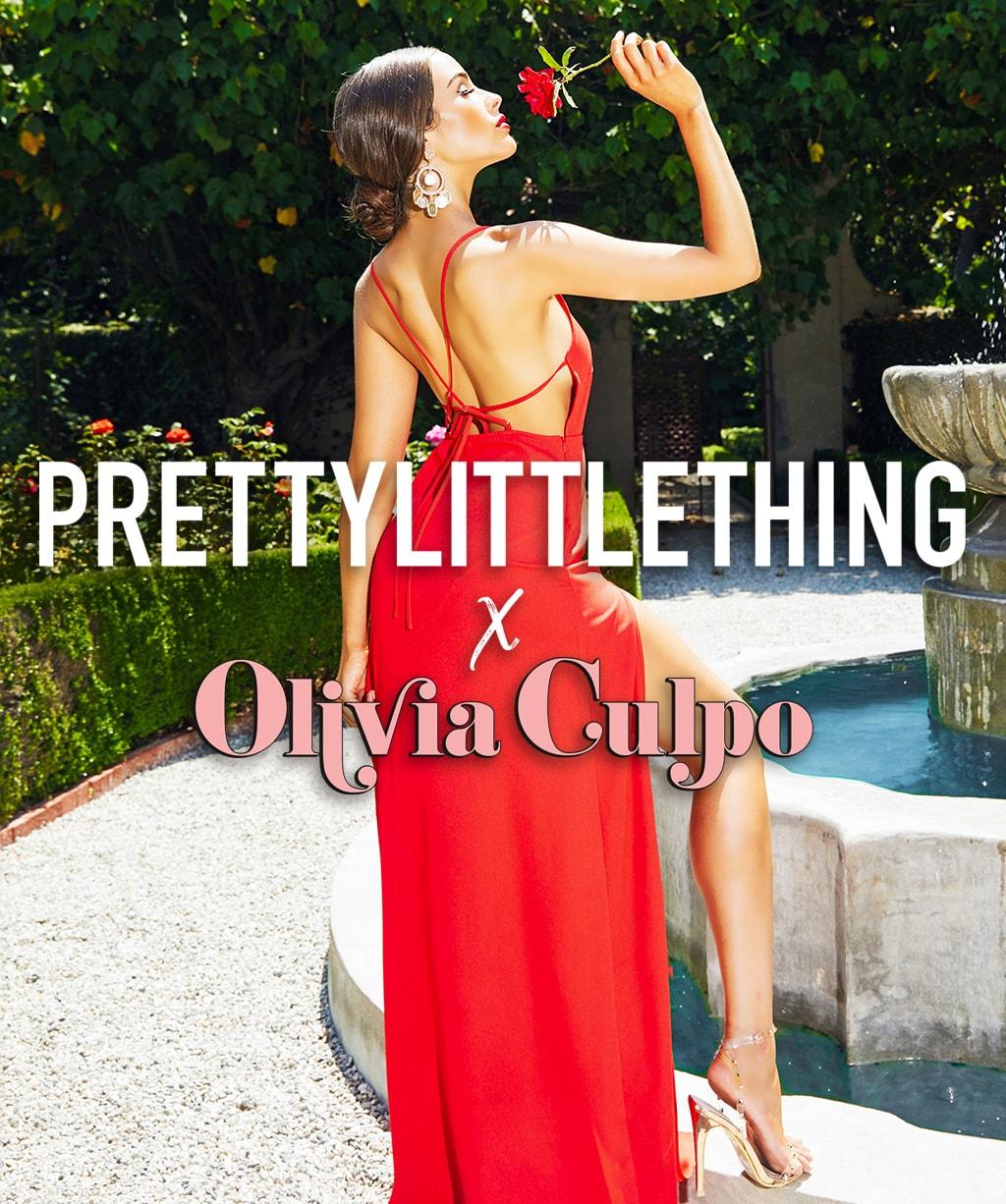Olivia Culpo Ad   PrettyLittleThing