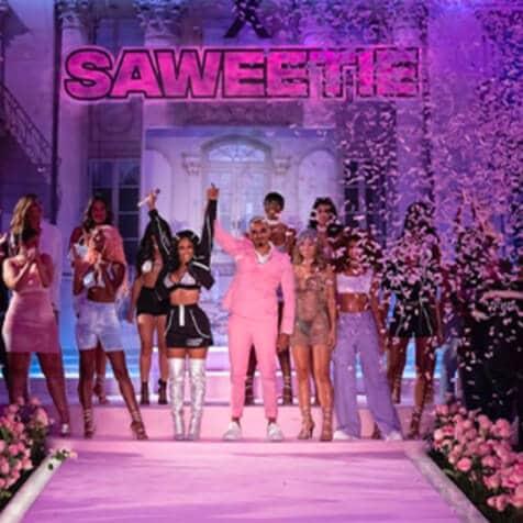 Saweetie Collab - Catwalk Show