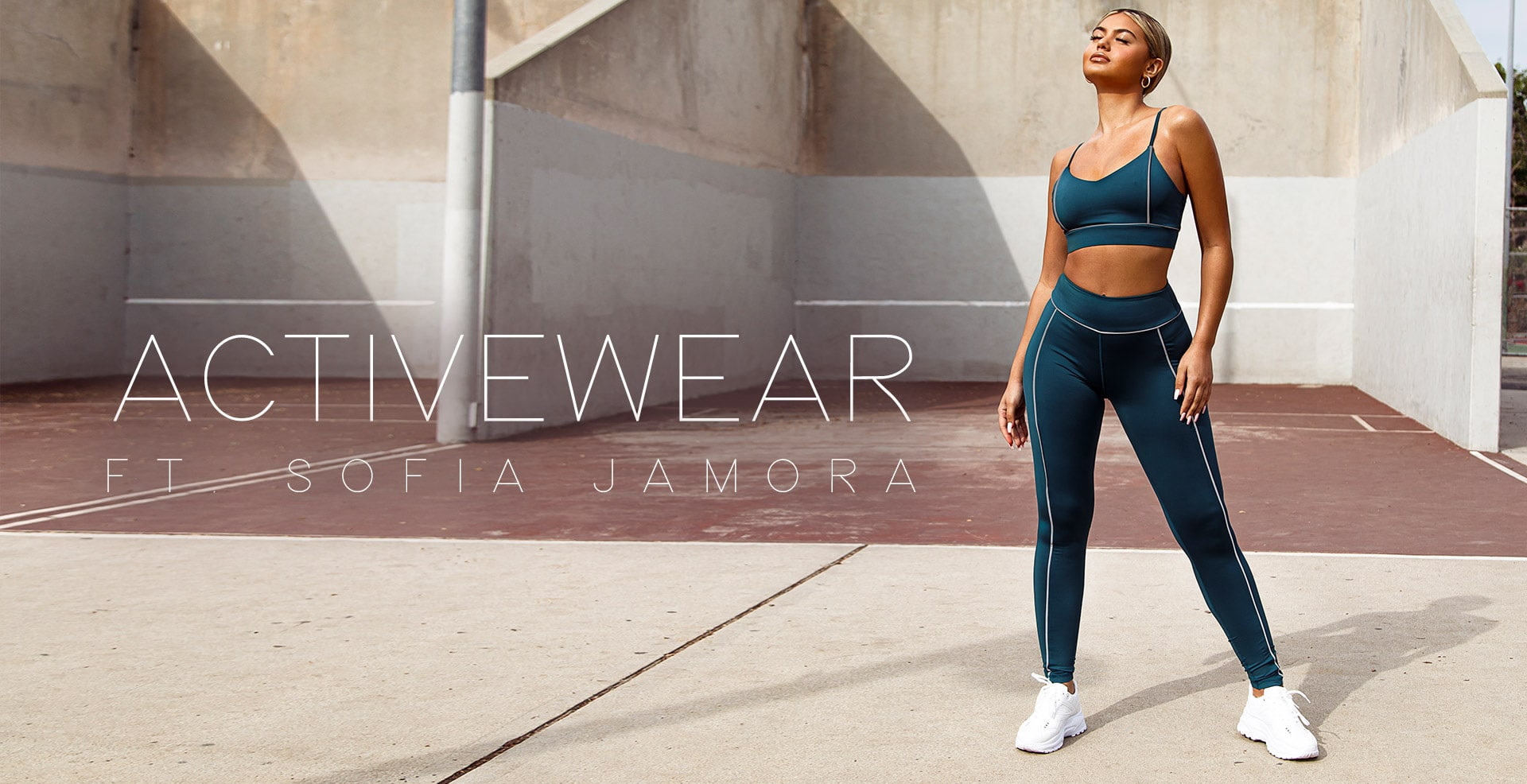 Activewear Header Image Desktop