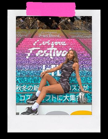 Brand Ambassador Chantel image block