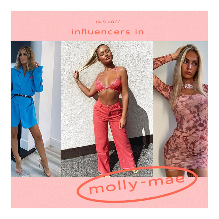 INFLUENCERS WEARING MOLLY-MAE