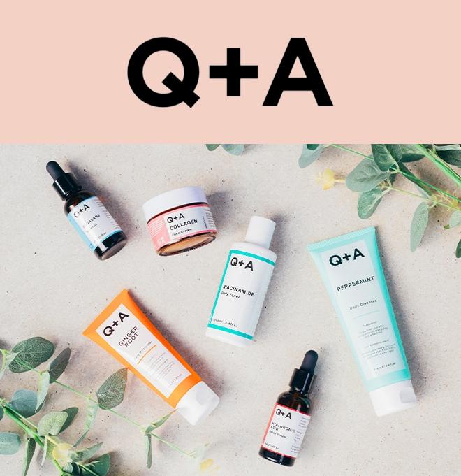 Q + A