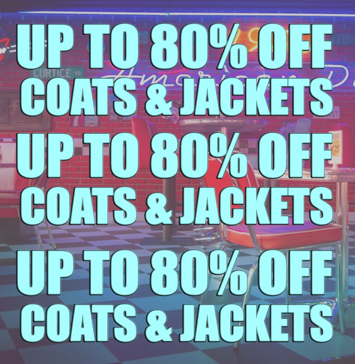 upto 80% off jackets