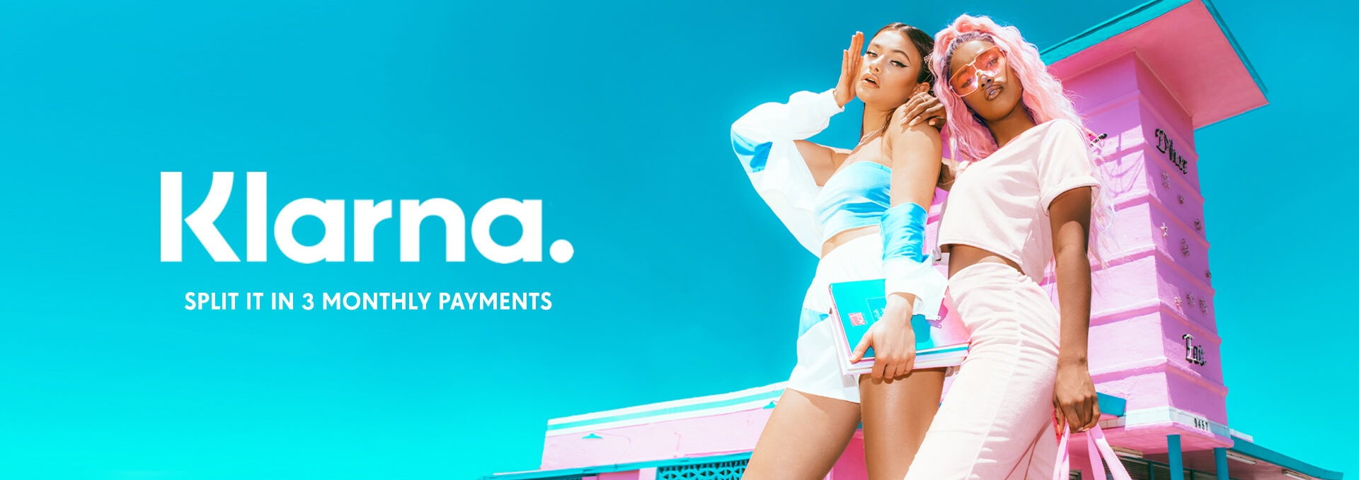Klarna Splash Header
