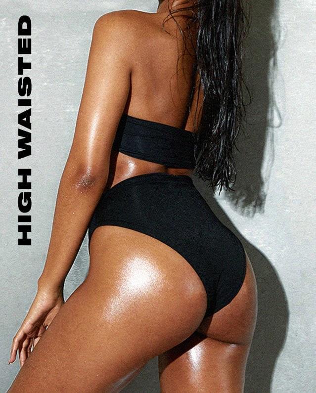 Swimwear Bottoms High Waisted