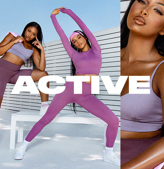 Activewear Edit image block