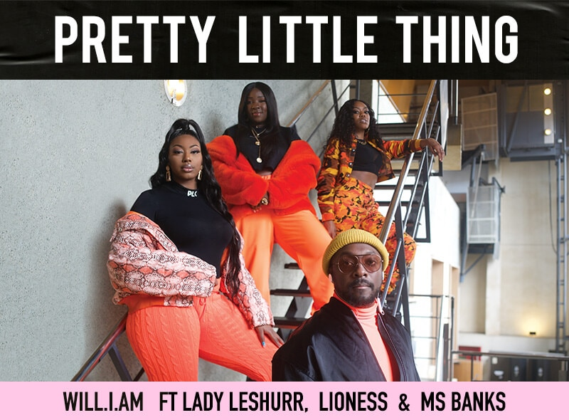 PrettyLittleThings ft Will.I.Am Lookbook