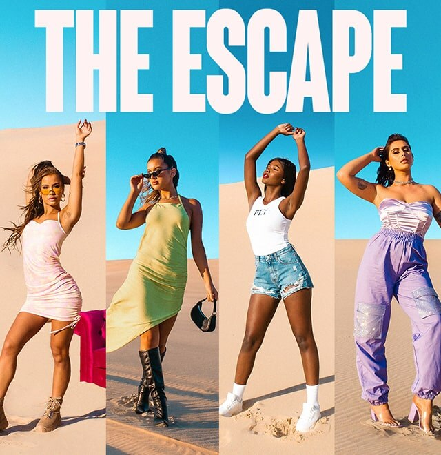 The Escape Lookbook Edit image block