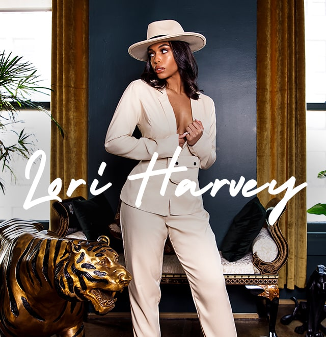 Lori Harvey image block