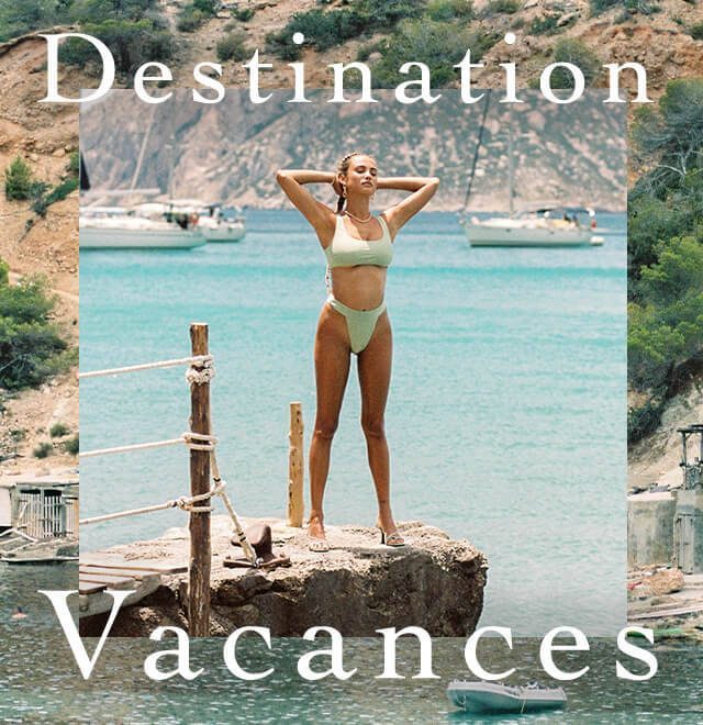 Destination Vacances Lookbook Edit image block