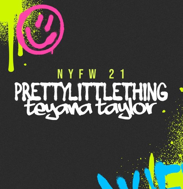 PLT x Teyana Taylor NYFW Lookbook image block
