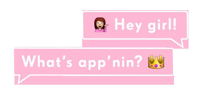 What's app'nin?