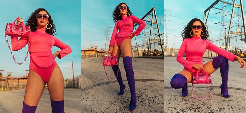 Izabela Guedes Shoot Neon Season 2 Mobile