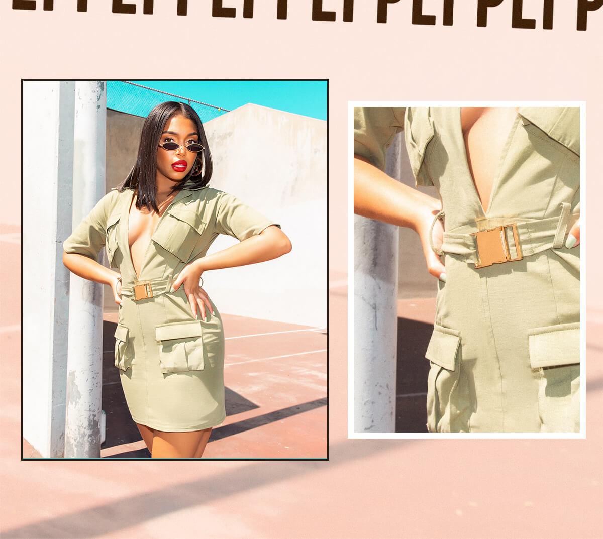 Lori Harvey Shoot 3 Gold Metallic Maxi Dress Mobile