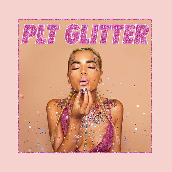 shine on with plt glitter