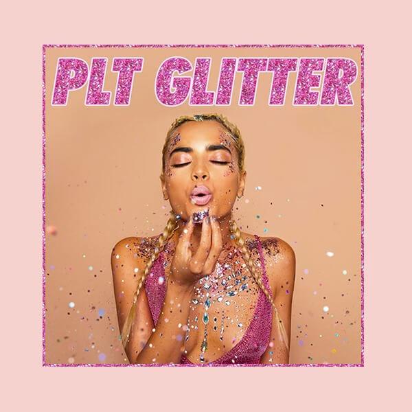 shine on with plt glitter