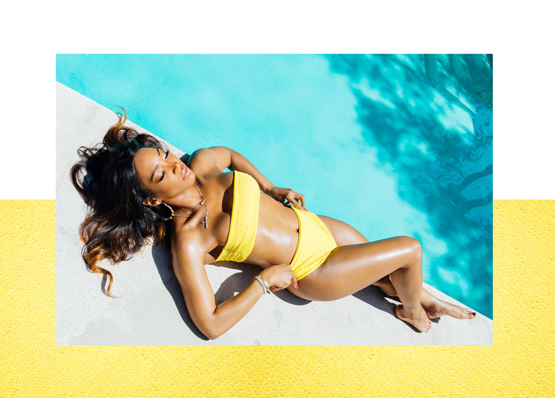 Malika haqq swimwear lookbook shoot 4 desktop