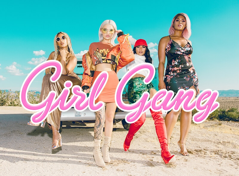 Girl Gang Campaign