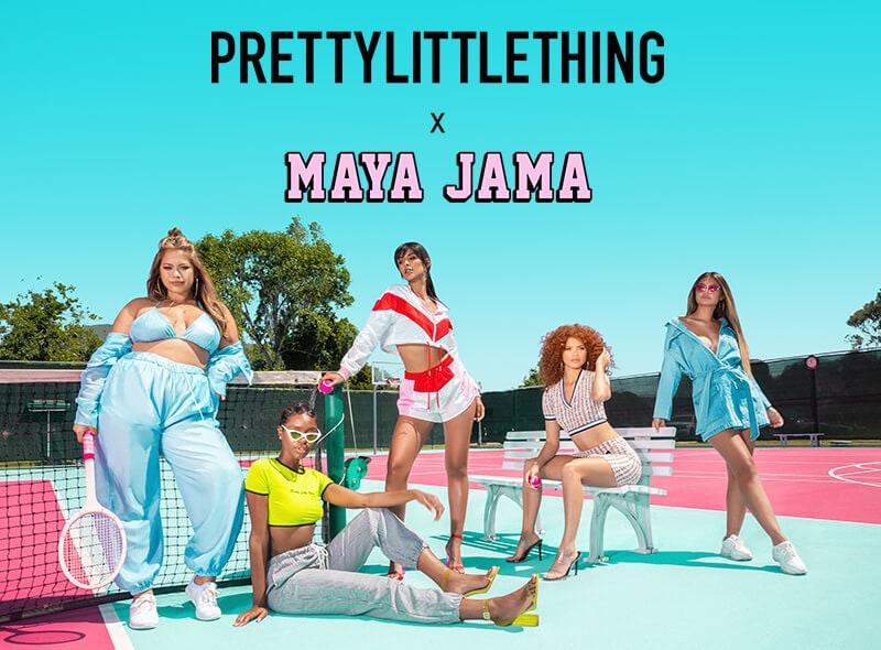 Maya Jama Campaign