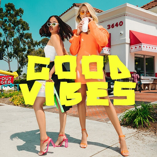 good vibes campaign image block