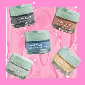 THE 5 BEST CLAY MASKS FROM LOREAL