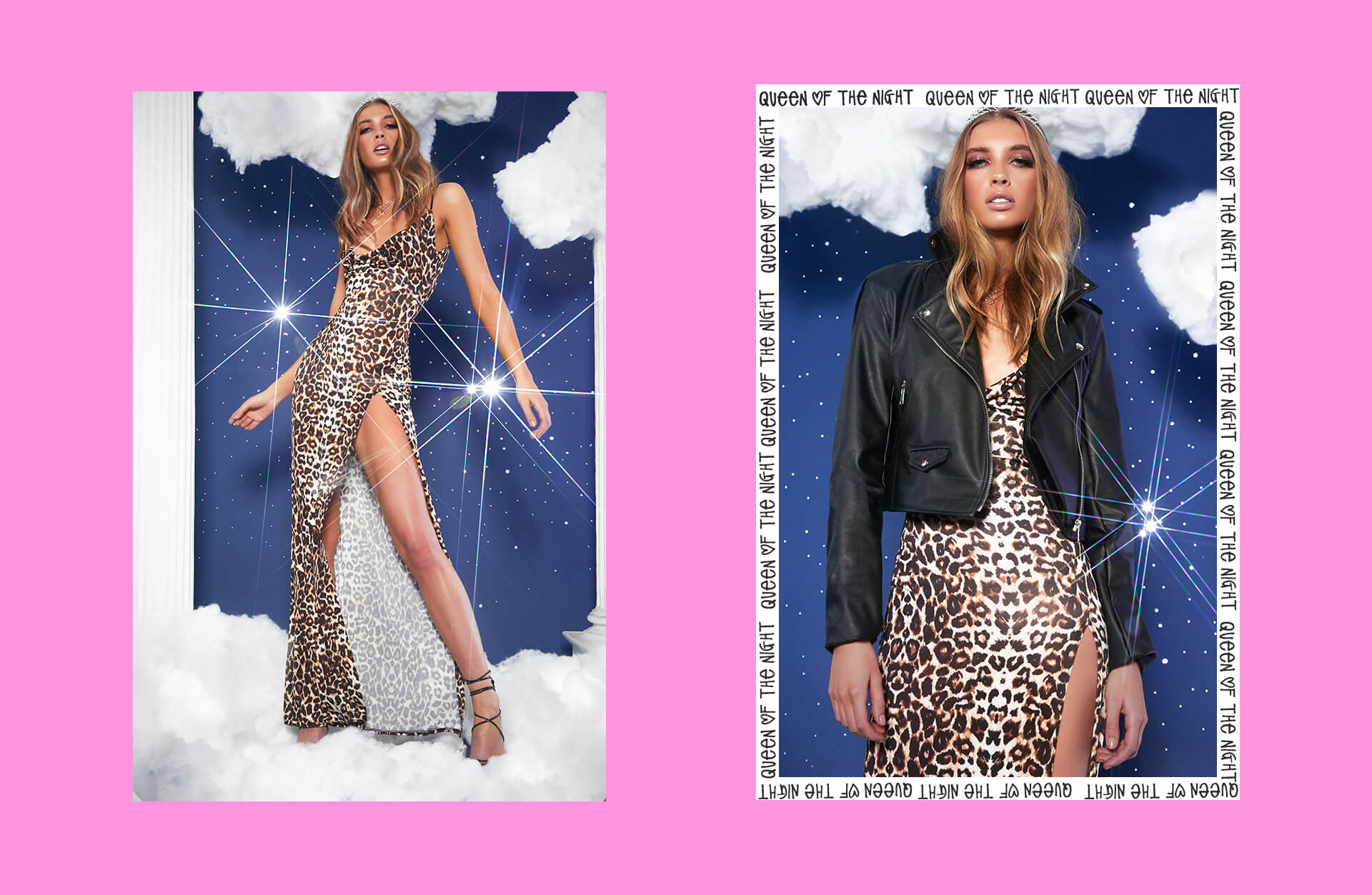 prom feature leopard print dress lookbook image 3