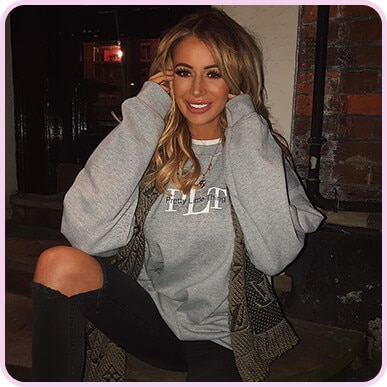 @oliviajade_attwood GREY MARL SWEATER