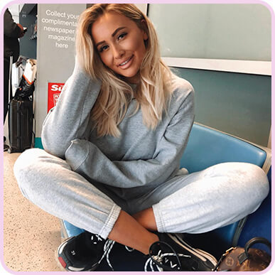@sarahhashcroft Ash Grey Casual Jogger
