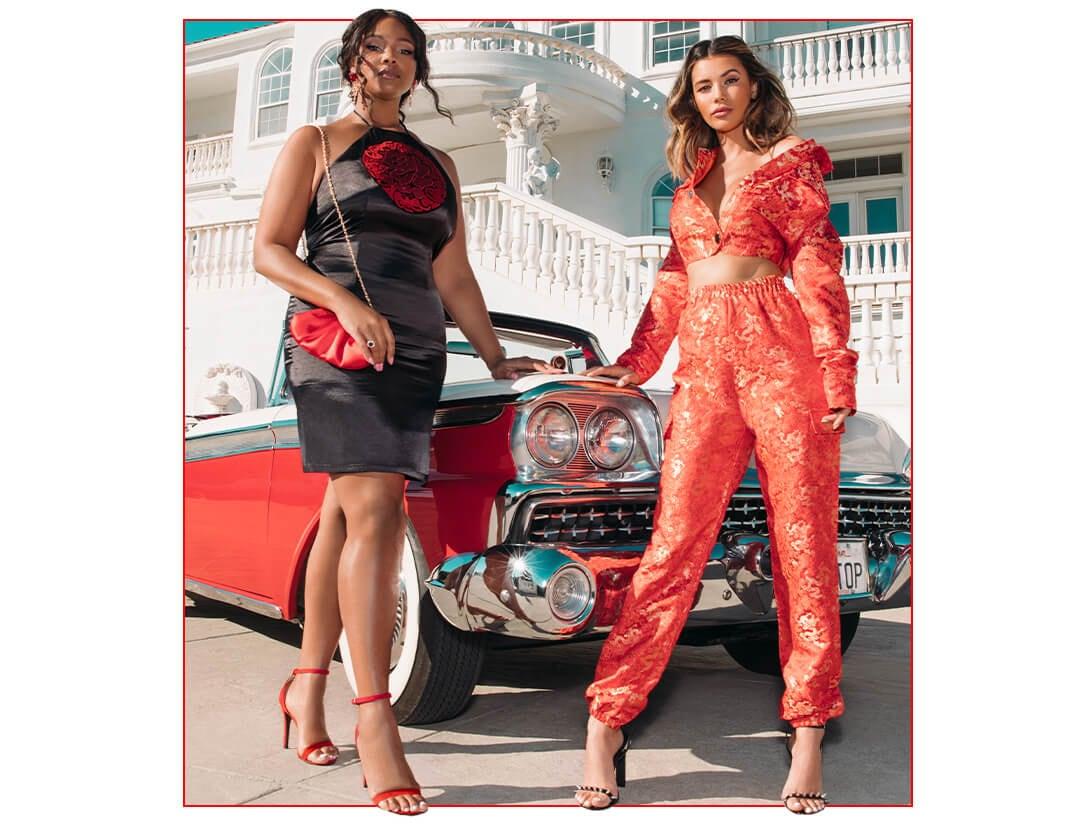 Valentines Lingerie Lookbook Image