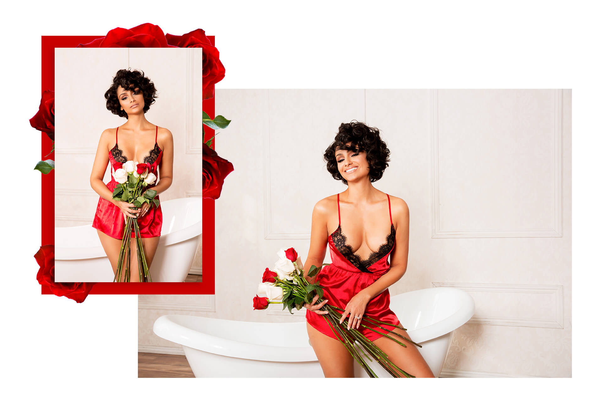 nazanin mandi lingerie lookbook look 1