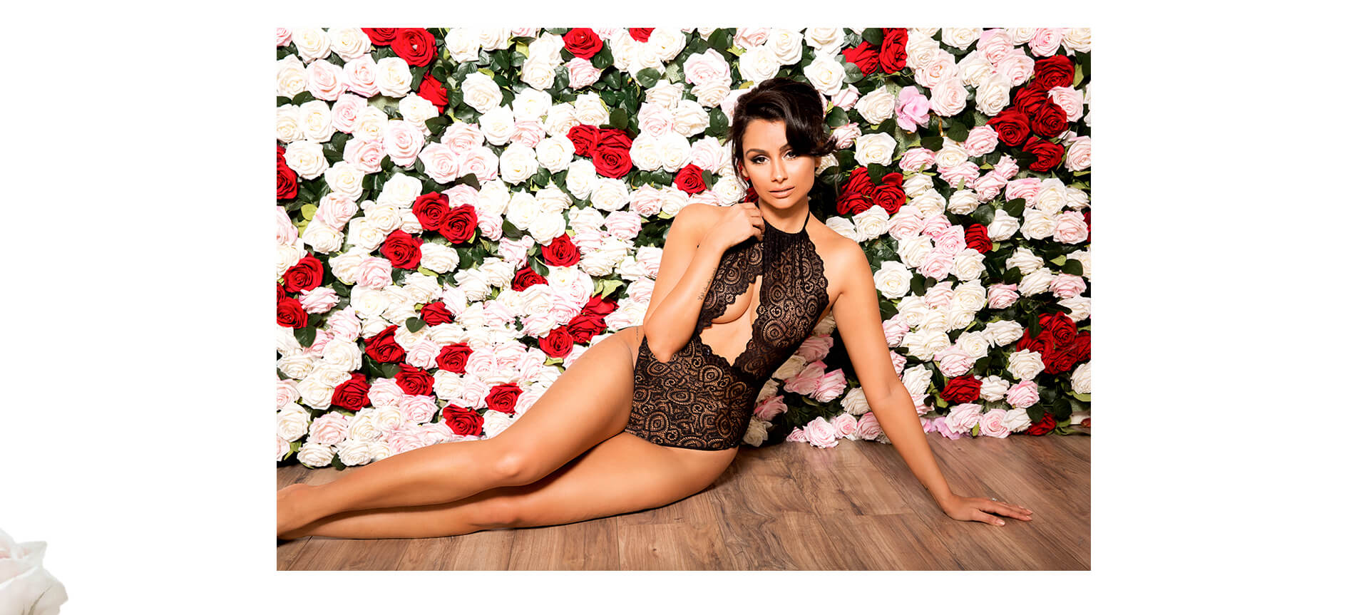 nazanin mandi lingerie lookbook look 3