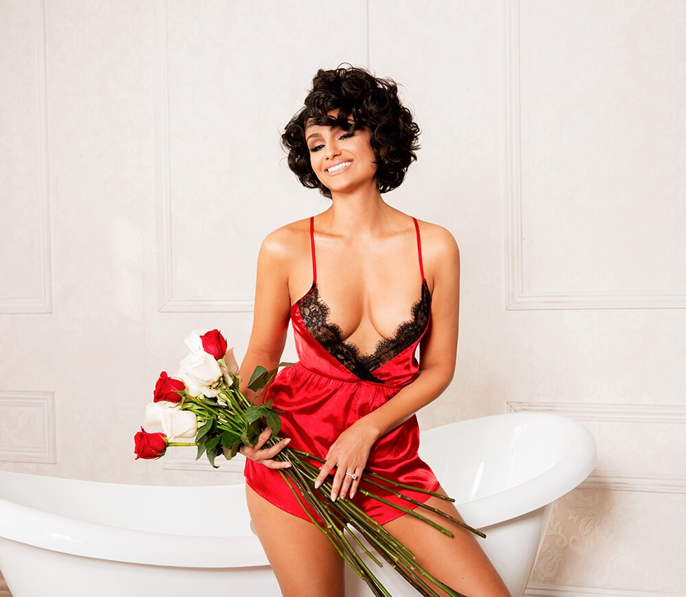 nazanin mandi lingerie lookbook look 2